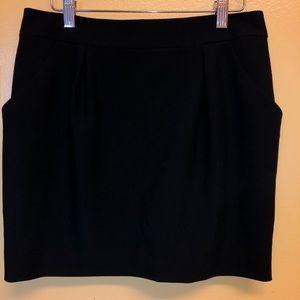 Bebe Black Mini Skirt Size 6